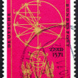 Stock Photo: Postage stamp Germany 1971 Illustration from New Astronomy by Ke