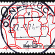Postage stamp Germany 1974 Handicapped — Stock Photo