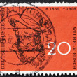 Stock Photo: Postage stamp Germany 1958 Wilhelm Busch, Humorist