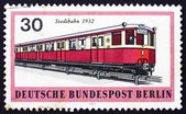 Postage stamp Germany 1971 Metropolitan Train, 1932 — Stock Photo