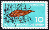 Postage stamp GDR 1959 Bittern, Wading Bird — Stock Photo
