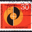 Postage stamp Germany 1971 Evangelical and Catholic Churches - ストック写真