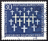 Postage stamp Germany 1969 Crosses — Stock Photo