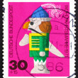 Stock Photo: Postage stamp Germany 1971 Nutcracker, Wooden Toy