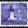 Stock Photo: Postage stamp Norway 1983 Lighthouse, Lindesnes, 1655