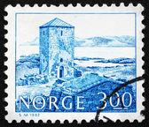 Postage stamp Norway 1982 Selje Monastery, 11th Century — Stock Photo