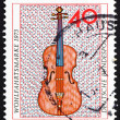 Postage stamp Germany 1973 Violin, 18th Century — Stock Photo #13655034