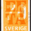 Postage stamp Sweden 1967 EFTA Emblem — Stock Photo
