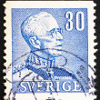 Postage stamp Sweden 1940 King Gustaf V, King of Sweden — Stock Photo