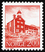 Postage stamp Norway 1982 Tofte Estate, Dovre, 16-17th Century — Stock Photo