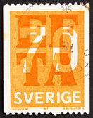 Postage stamp Sweden 1967 EFTA Emblem — Stock Photo