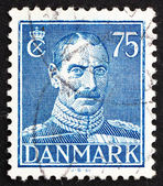 Postage stamp Denmark 1946 Christian X, King of Denmark — Stock Photo