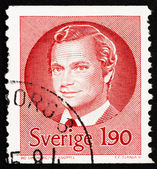 Postage stamp Sweden 1984 Carl XVI Gustaf, King of Sweden — Stock Photo
