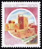 Postage stamp Italy 1980 Castle Svevo, Bari — Stock Photo