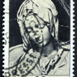 Postage stamp Italy 1954 Madonna of the Pieta, Michelangelo - Stock Photo