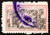 Postage stamp Cuba 1963 Broken Chains at Moncada — Stock Photo