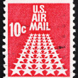 Postage stamp US1968 50-Star Runway — 图库照片 #13947866