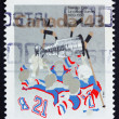 Stock Photo: Postage stamp Canad1993 Stanley Cup, Centenary