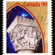 Stock Photo: Postage stamp Canada 1995 Flight to Egypt, Christmas