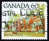 カナダ 1982年オンタリオのストリート シーンで切手 — ストック写真