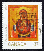 Postage stamp Canada 1988 Conception, Christmas — Stock Photo
