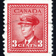 Postage stamp Canada 1942 King George VI, King of England — Stock Photo
