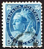 Frimärke kanada 1897 drottning victoria, drottning av england — Stockfoto