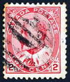 Selo canadá 1903 rei edward vii, rei da inglaterra — Foto Stock