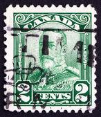 почтовая марка канады 1928 года король георг v, король англии — Стоковое фото