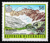 Postzegel oostenrijk 1996 hohe tauern nationalpark — Stockfoto