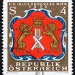 Stock Photo: Postage stamp Austri1973 Arms of Viennese Tanners