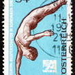Postage stamp Austria 1974 Diver — Stock Photo