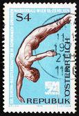Postage stamp Austria 1974 Diver — Stock Photo