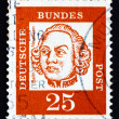 Postage stamp Germany 1961 Johann Balthasar Neumann, German Baro - Stockfoto