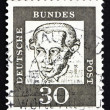 Postage stamp Germany 1961 Immanuel Kant, philosopher - Stockfoto