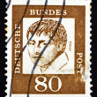 Stock Photo: Postage stamp Germany 1961 Heinrich von Kleist, Poet