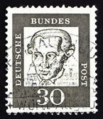 Postage stamp Germany 1961 Immanuel Kant, philosopher — Stock Photo