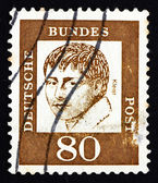 Postage stamp Germany 1961 Heinrich von Kleist, Poet — Stock Photo