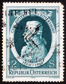 Postage stamp Austria 1974 Carl Ditters von Dittersdorf, Compose — Stock Photo