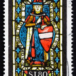 Postage stamp Austria 1967 St. Leopold, Heiligenkreuz Abbey — Stock Photo