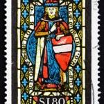 Постер, плакат: Postage stamp Austria 1967 St Leopold Heiligenkreuz Abbey