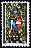 Postage stamp Austria 1967 St. Leopold, Heiligenkreuz Abbey — Stock Photo