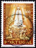 Postzegel portugal 1985 verschijning van onze lieve vrouw van fatima — Stockfoto