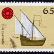 Postage stamp Portugal 1980 Caravel, ship — Stock Photo