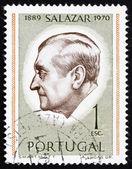 Postage stamp Portugal 1971 Antonio Salazar, President — Stock Photo