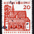Postage stamp Germany 1965 Portico, Lorsch - Stock Photo