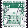 Postage stamp Germany 1967 Portico, Lorsch, Hessen - Stock Photo
