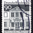 Postage stamp Germany 1966 Zschocke Ladies� Home, Konigsberg, Pr — Stock Photo