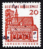 Postage stamp Germany 1965 Portico, Lorsch — Stock Photo