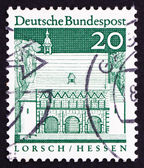 Postage stamp Germany 1967 Portico, Lorsch, Hessen — Stock Photo
